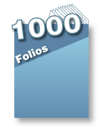 1000 folios