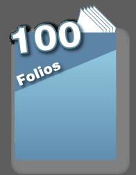 100 folios