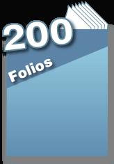 200 folios