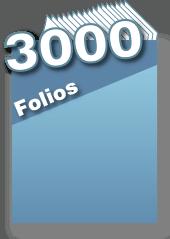 3000 folios
