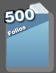500 folios